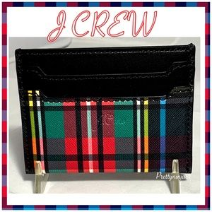 J Crew Card Holder Wallet New!